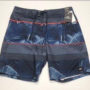 O'NEILL Mens Blue Palmz Board Shorts